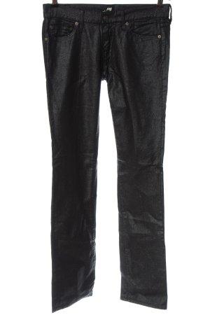 7 For All Mankind Jeansy z prostymi nogawkami jasnoszary Z połyskiem