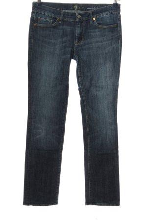 7 For All Mankind Jeans coupe-droite bleu style décontracté