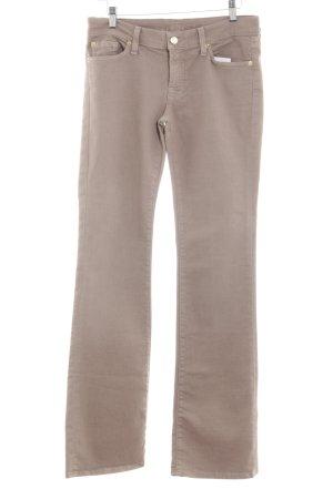 7 For All Mankind Jeans met rechte pijpen nude casual uitstraling