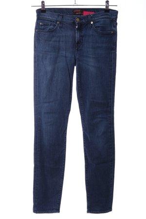 7 For All Mankind Jeans met rechte pijpen blauw casual uitstraling