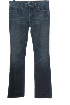 7 For All Mankind Jeans a gamba dritta blu stile casual