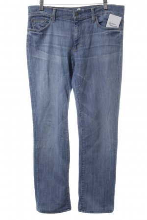 7 For All Mankind Jeans coupe-droite bleu