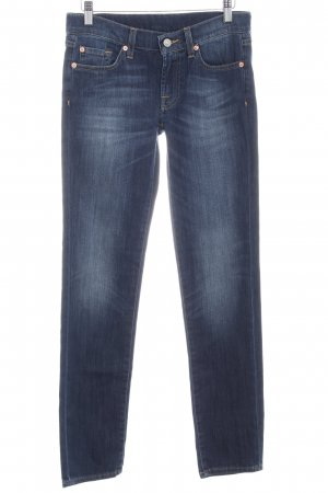 7 For All Mankind Straight Leg Jeans blue casual look
