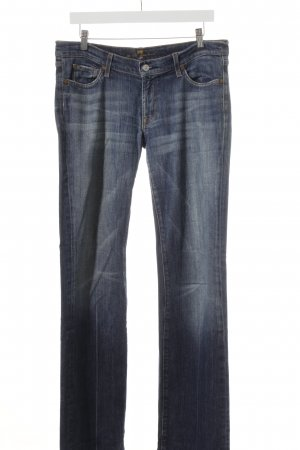 7 For All Mankind Straight-Leg Jeans blau Casual-Look, weite 32, extra lang