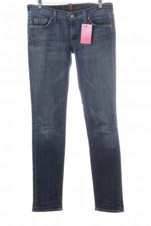 7 For All Mankind Straight-Leg Jeans blau
