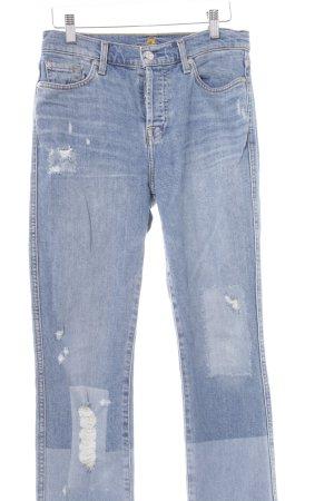 7 For All Mankind Jeans a gamba dritta blu-azzurro Colore sfumato stile casual