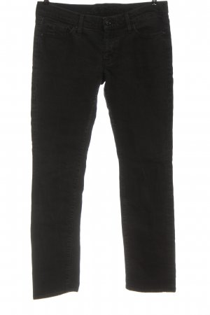 7 For All Mankind Jeans a gamba dritta nero stile casual