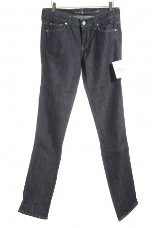 7 For All Mankind Jeansy z prostymi nogawkami ciemnoniebieski W stylu casual