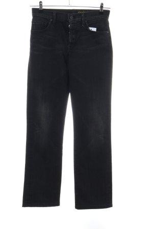 7 For All Mankind Jeans met rechte pijpen zwart casual uitstraling