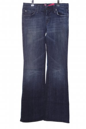 7 For All Mankind Straight-Leg Jeans blau-pink Casual-Look