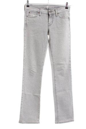 7 For All Mankind Jeans met rechte pijpen lichtgrijs casual uitstraling