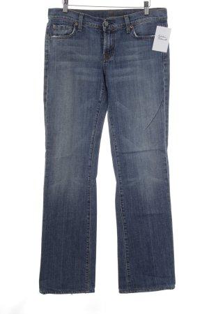 7 For All Mankind Straight-Leg Jeans kornblumenblau Casual-Look