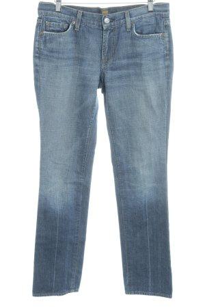 7 For All Mankind Jeansy z prostymi nogawkami stalowy niebieski W stylu casual
