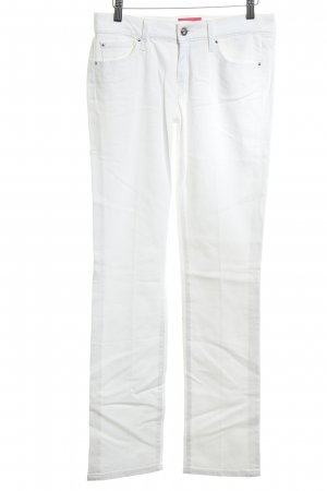 7 For All Mankind Jeans a gamba dritta bianco stile casual