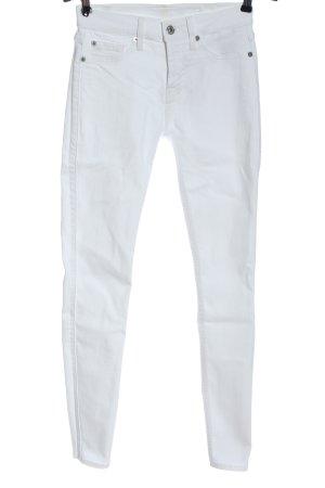7 For All Mankind Jeans elasticizzati bianco stile casual