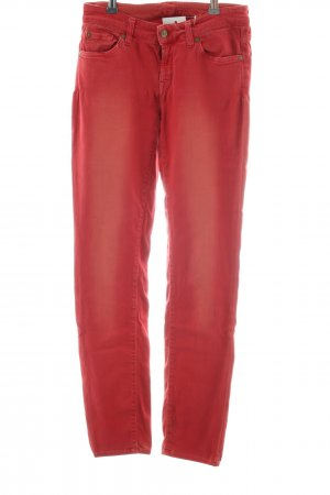 7 For All Mankind Jeans stretch rouge style décontracté