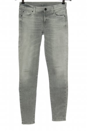 7 For All Mankind Stretch Jeans light grey casual look