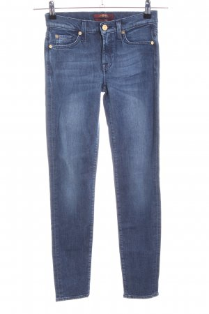 7 For All Mankind Jeans stretch bleu style décontracté