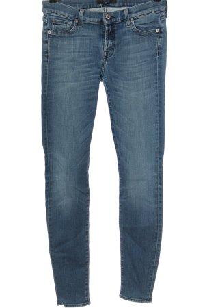 7 For All Mankind Jeans stretch bleu style décontracté