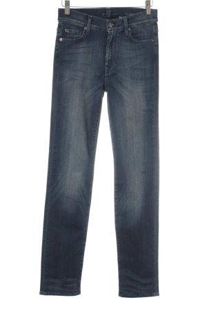 7 For All Mankind Jeans stretch bleu foncé style décontracté