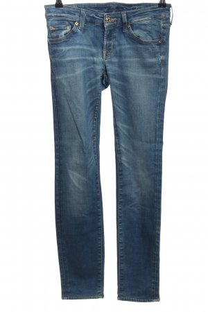 7 For All Mankind Jeans elasticizzati blu stile casual