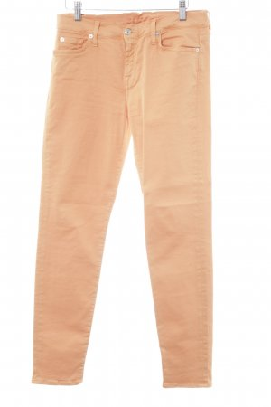 7 For All Mankind Jeans stretch orange clair style décontracté