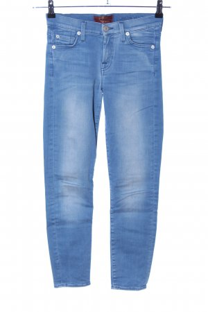 7 For All Mankind Stretch broek blauw casual uitstraling