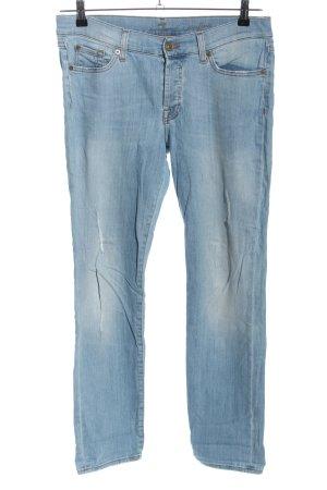 7 For All Mankind Pantalón elástico azul look casual