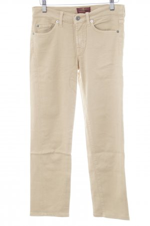 7 For All Mankind Stretchhose creme Casual-Look