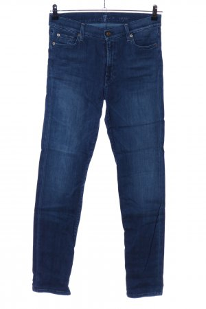 7 For All Mankind Pantalon strech bleu style décontracté