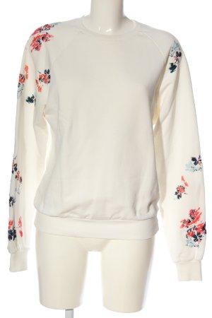 7 For All Mankind Bluza dresowa Wzór w kwiaty W stylu casual