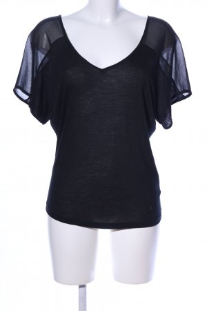 7 For All Mankind T-Shirt schwarz Casual-Look