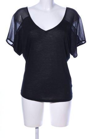 7 For All Mankind T-shirt czarny W stylu casual