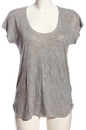 7 For All Mankind T-Shirt hellgrau Casual-Look