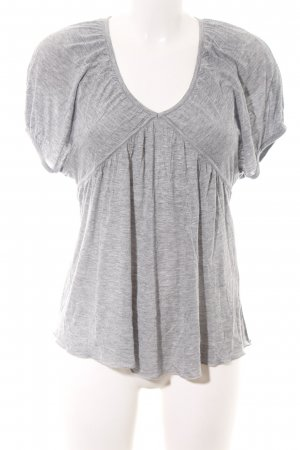 7 For All Mankind T-Shirt light grey flecked casual look