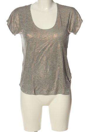 7 For All Mankind T-shirt grigio chiaro stile casual
