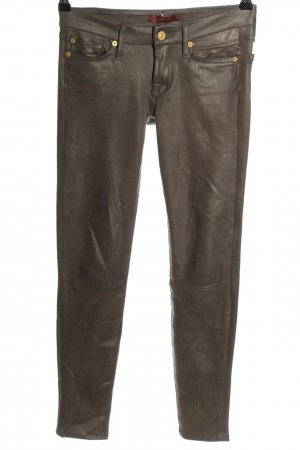 7 For All Mankind Five-Pocket Trousers brown casual look