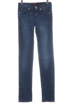 7 For All Mankind Treggings azul oscuro look casual