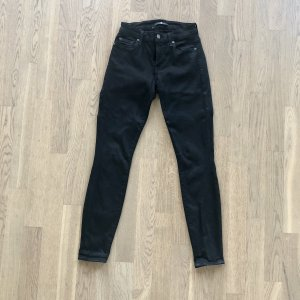 7 For All Mankind Jeans skinny noir