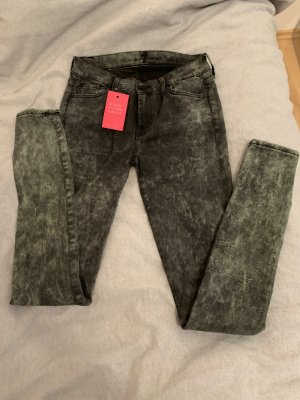 7 For All Mankind Jeans skinny gris