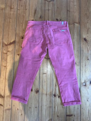 7 For All Mankind Jeans a 3/4 salmone