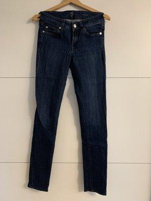 7 Jeans Skinny dunkelblau
