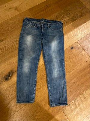 Seven for all Man kind 3/4 Length Jeans blue