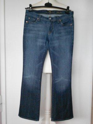 7 For All Mankind Jeans svasati blu Cotone