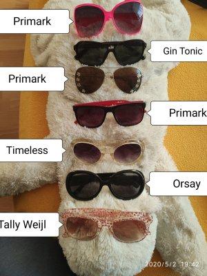 7 Sonnenbrillen Party Rave