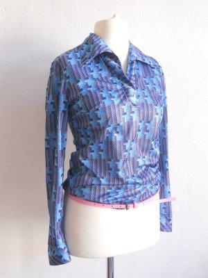 70er Jahre Vintage Bluse Gr. 36/38