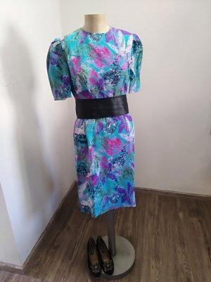 70s / 80s Vintage Kleid handgenäht Gr. M