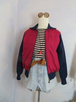 70s Vintage Luippold Track Jacket - M L  - Windbreaker Bomber Colour Block Jacke Anorak Frauen