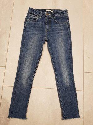Levis Jeans taille haute bleu