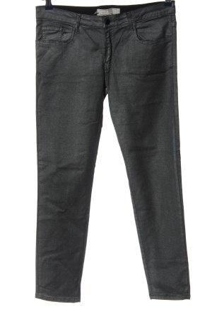 75 Faubourg Pantalón de cinco bolsillos gris claro look casual